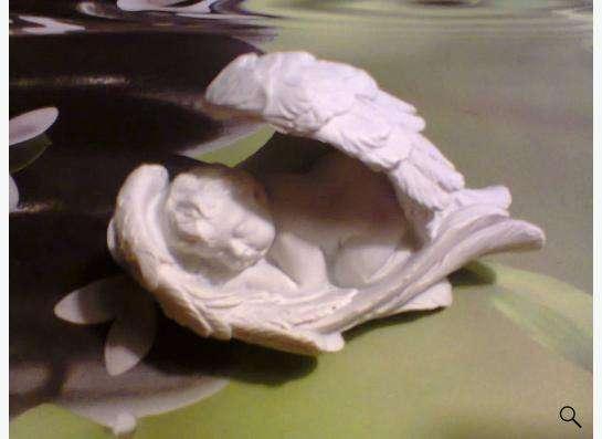 фигурка-статуэтка ангелочек
