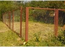Забор из профнастила, рабицы, в Казани