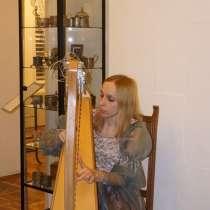 Уроки на кельтской и классической арфе, в Москве