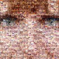 """Фотографии как """"пиксели"""" фотомозаика из фотографий. портрет, в Ростове-на-Дону"""