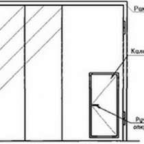 Ворота складчатые ВРС 42х42-УХЛ1, серия 1.435.2-28, в Красноярске