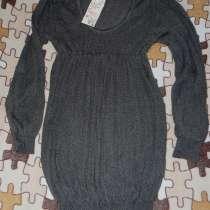 Платье-Туника вязанная новая с этикетками мягкая р.42-44, в Москве