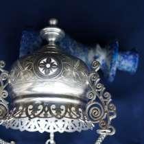 Лампада серебряная подвесная. Москва, 1880-е гг, в Санкт-Петербурге