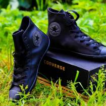 Кеды Converse высокие черные, в Москве
