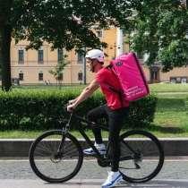 Велокурьер, в Москве