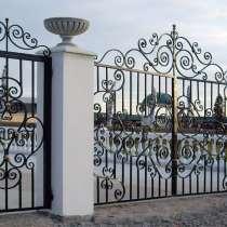 Изготовление и установка сварных и кованых ворот и калиток, в Санкт-Петербурге