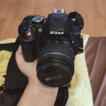 Фотоаппарат Nikon d3300 + защитная сумка+карта памяти на 32, в Москве