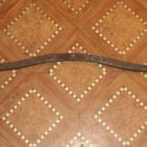 Старинная кованная ось от телеги, в Владимире