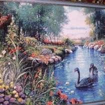 Картина «Лебеди», в Москве