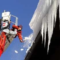 Промышленный альпинист верхолазы Рязань. Чистка кровли: снег, в Рязани
