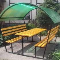 Беседка «Анна» с лавочками и столиком, в Богучарах