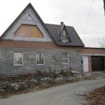Продажа 2- х этажного дома, с черновой отделкой, в Челябинске