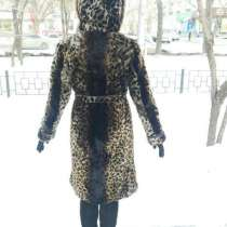 ШУБА МУТОНОВАЯ (расцветки: леопард), в Новосибирске
