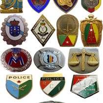 Иностранные знаки: полиция, жандармерия и таможня, в Москве