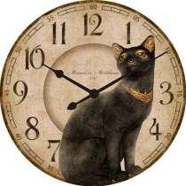 Часы с кошкой Хаттор, в Москве