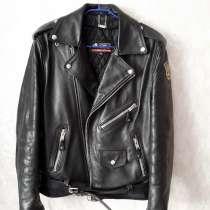 Рокерско-байкерская куртка-косуха мужская, в Санкт-Петербурге