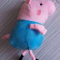 Плюшевая свинья Джордж, в Юрге