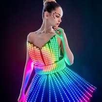 Светодиодный костюм/ led dress/ световое шоу, в Москве