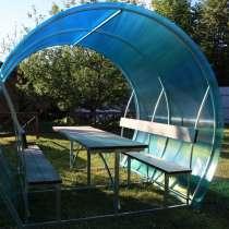 Беседка садовая, в Сибае