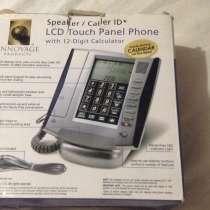 Проводной настольный телефон LCD Touch Panel Phone, в Волгограде