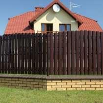 Забор металлический штакетник, в Омске