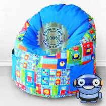 """Пуфик-мешок для малышей """"Емеля"""", Роботы, в Волгограде"""