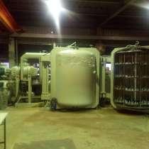 Установка металлизации стеклоизделий в условиях мас производ, в г.Very