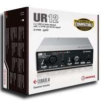 Аудиоинтерфейс Steinberg UR12, в г.Алматы