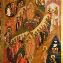 Икона Палехского письма Двунадесятые Праздники, в Санкт-Петербурге