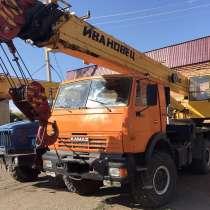Продам автокран Ивановец, Камаз-43118,вездеход,2010 г/в, в Челябинске