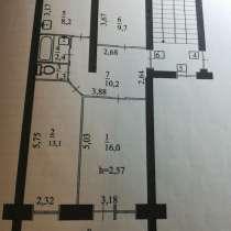 Продается трехкомнатная квартира в элитном кирпичном доме, в Калуге
