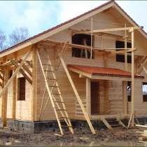 Строительство домов из сип-панелей, брус, фундамент, кровля, в Дмитрове