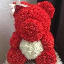 Мишки из искусственных роз, в г.Кривой Рог