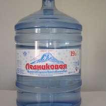 Ледниковая, природная минеральная столовая питьевая вода 19л, в Москве