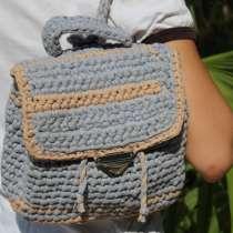 Рюкзакчок для модниц, ручная работа, в Сочи