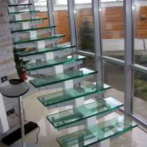 Изготавливаем ступени стеклянные, ограждение для балконов, в г.Брест