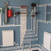 Монтаж системы отопления загородного дома под ключ, в Екатеринбурге