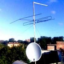 Установка антенн в Первомайском районе, в Новосибирске