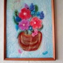Картина шерстяная акварель, в Жуковском