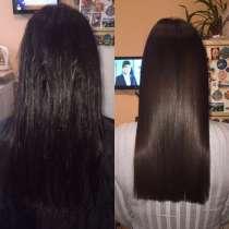 Кератиновое выпрямление, ботокс волос, в Уфе