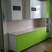 Кухня крашеная с использованием фурнитуры Blum, в Иркутске