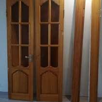 Двери из натурального ясеня б/у, ширина 50 см, в Владивостоке