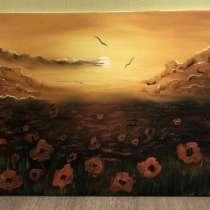 Картина маслом на холсте, в Череповце