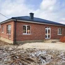 Новый дом 110 кв. м. на 5 сотках в п. Темерницкий, в Ростове-на-Дону