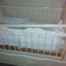 Продам кроватку, люльку, с комодом и пеленальным столиком, в Барнауле
