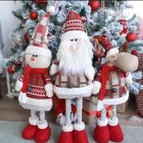 Санта Клаус, олень и Снеговик, в Самаре