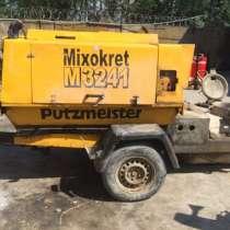 Растворонасос -putzmeister mixokret 3241, в г.Душанбе