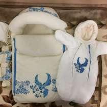 Конверт для новорождённого (комплект), в Губкине