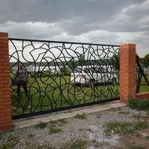 Забор металлический из профильной трубы, в Бердске