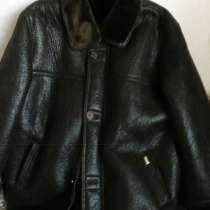 Куртку кожаную зимнюю 56размера, в Челябинске